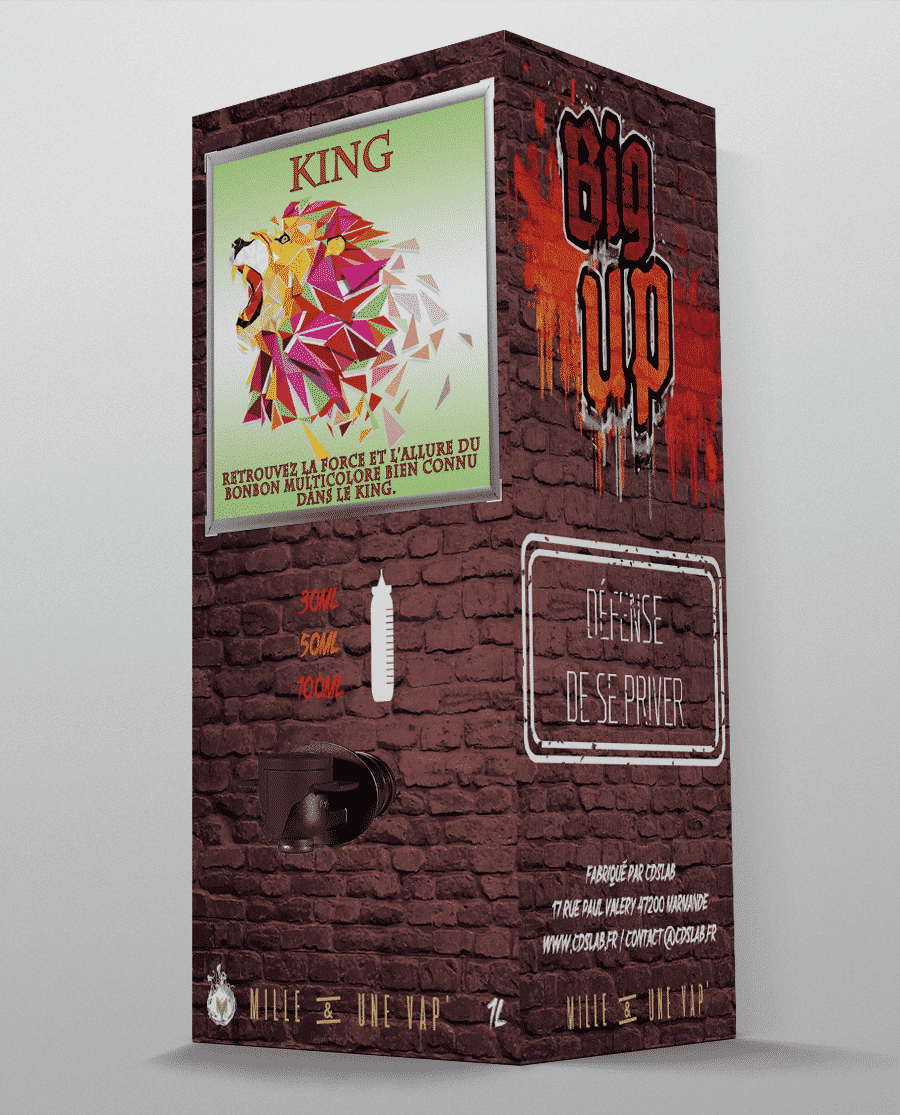 LE KING BRIQUE 1L