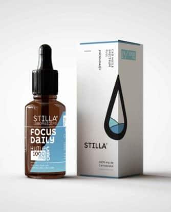 HUILE CBD FOCUS/DAILY STILLA® FULL SPECTRUM